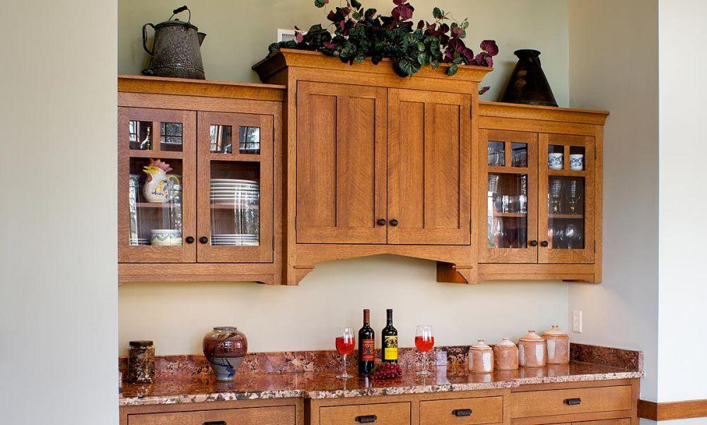 countertop   space   kitchens   Kitchen buffet cabinet, Kitchen buffet, Used kitchen cabinets