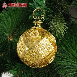 Discount Luxury Christmas Ornaments Decorating Christmas Tree Pendant 8 Cm Golden Luxury Foam Stick Act The Role Of Chr Christmas Ornaments Christmas Ornaments