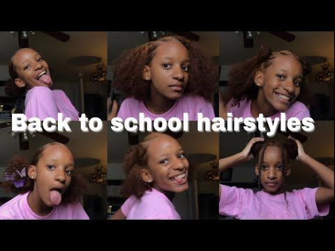 15 Easy Back To School Hairstyles For Curly Hair Natural