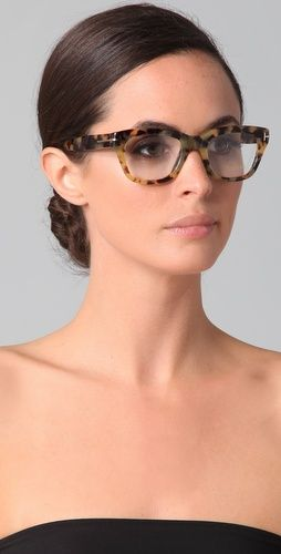 0ada0b65e11 Wish I still wore glasses. Damn Lasik. Love these by Tom Ford. Tom Ford  Eyewear ...
