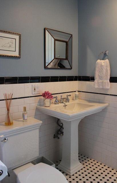 Classic Bathroom 30s 40s Home Pinterest Bad Altbau And Bau