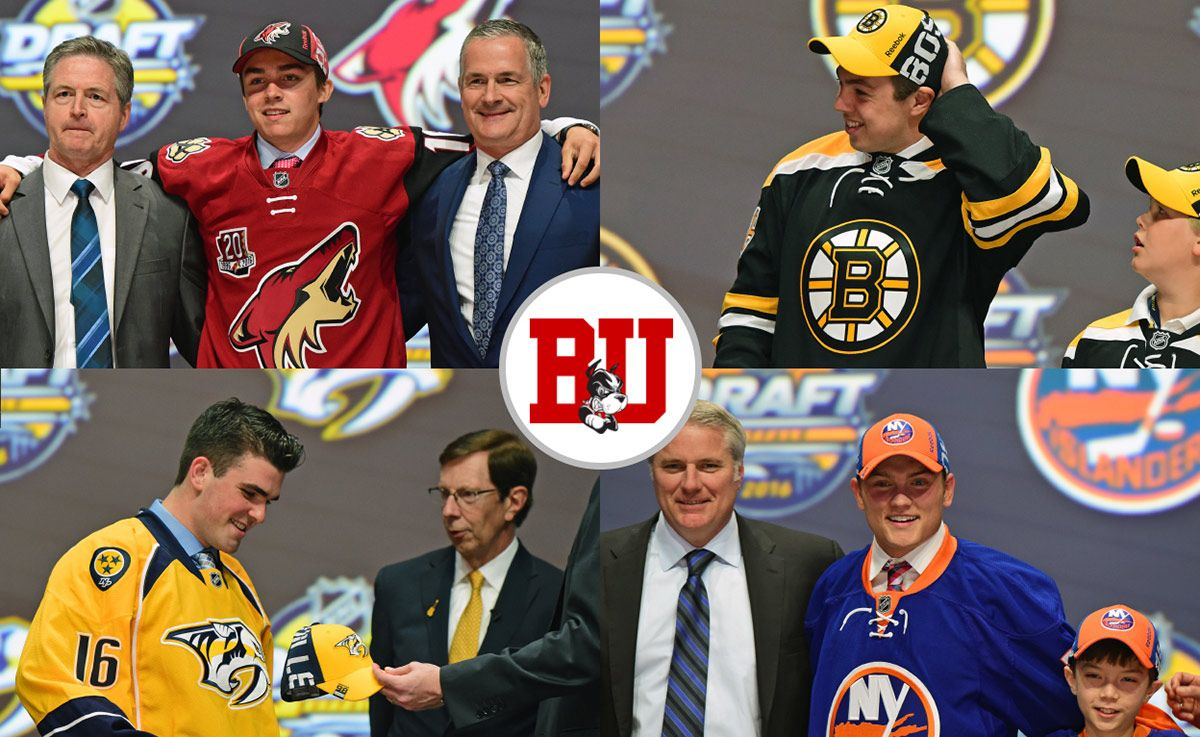 Terriers broke a record at the 2016 NCAA draft, having four players chosen in the first 19 picks (all in the first round).