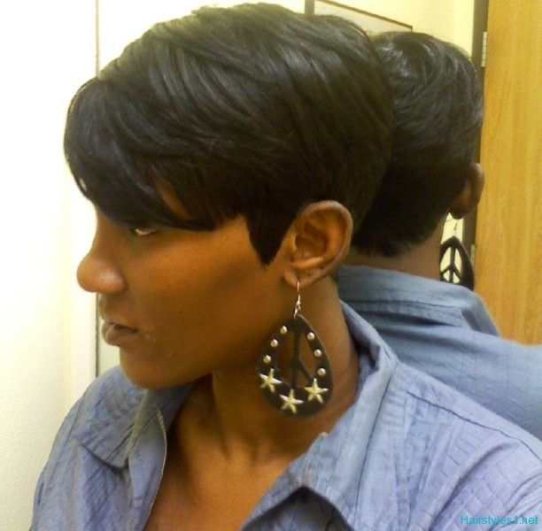 Short Black Hairstyles 2012 Love This Look Simple And My Style