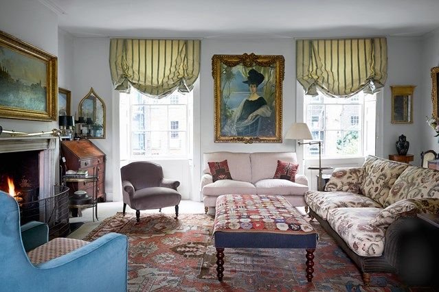 See All Our Stylish Living Room Design Ideas On HOUSE By House U0026 Garden,  Including The Restored Georgian House Of Gilder Clare Mosley