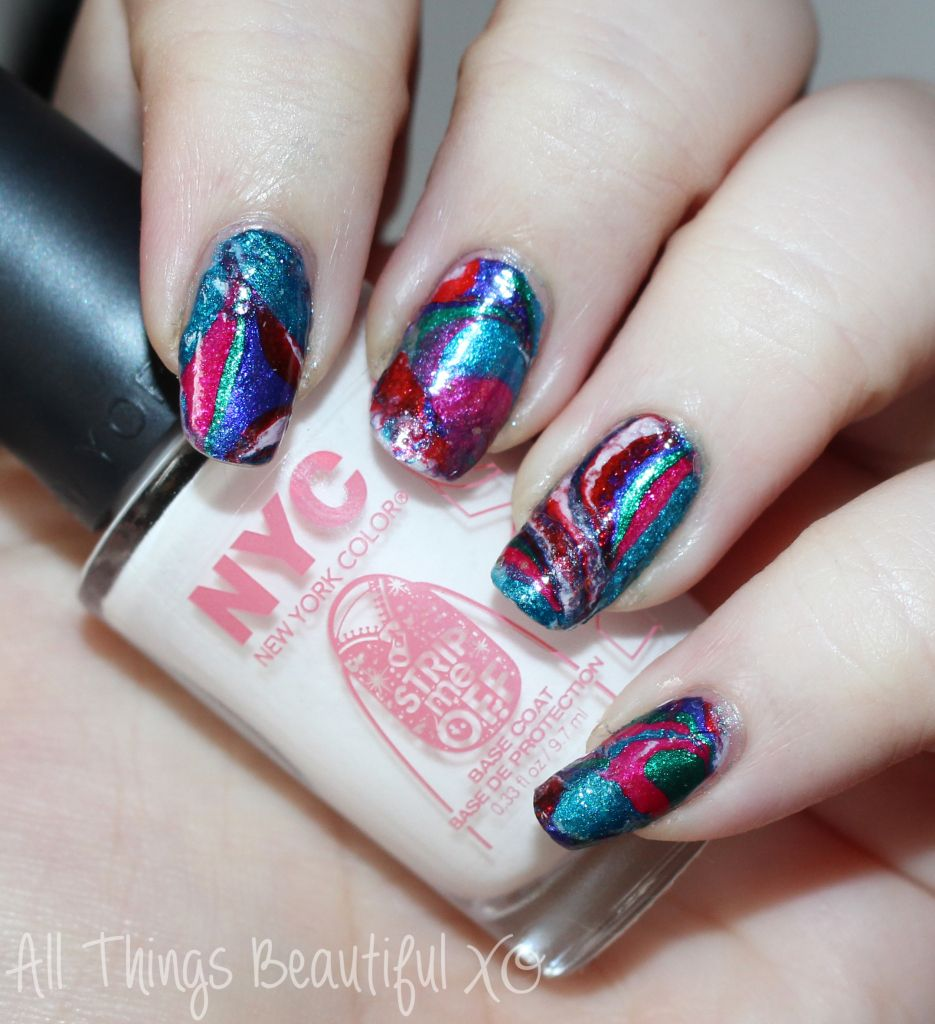 NYC Strip Me Off Peel Off Base Coat Review & Demo   Manicure, Nail ...