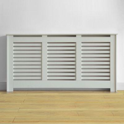 Homebase Virginia Radiator Cover Minimal Living Room Loft