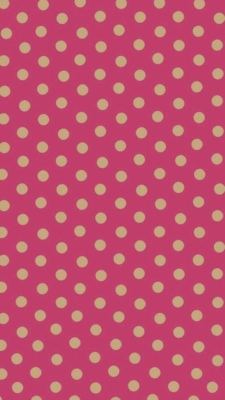 Polka dot pattern iphone 6 wallpapers pink wallpaper polka dot pattern iphone 6 wallpapers voltagebd Image collections