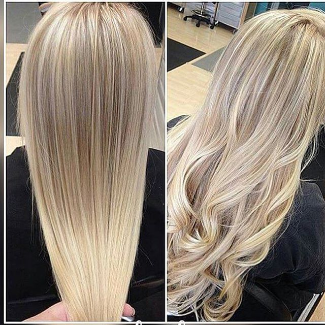 4 Blonde Blond Straight Hair Sweep Blonde Balayage Natural Blonde Hair Color Cool Blonde Highlights Natural Balayage Hair Blonde Hair Color Hair Highlights