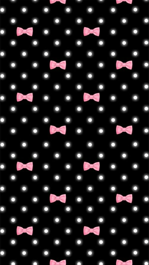 Pink And Black Bows Awesome Pink Logo From Sanrio Etc