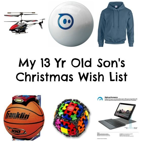 This is my 13 Year Old Son's Christmas List! | Christmas gifts ...