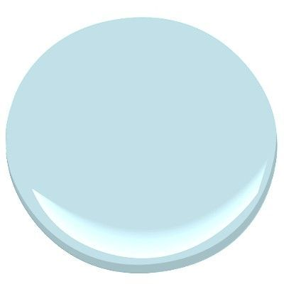 Benjamin Moore Blue Allure 771 A Light Haint Blue Color For A