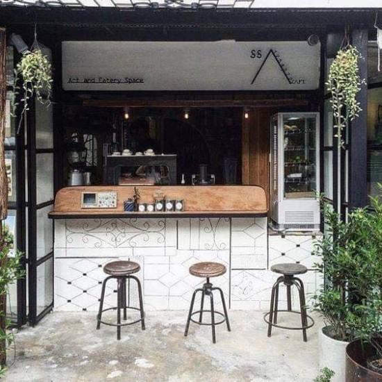 11 Desain Warung Kopi Sederhana Pinggir Jalan 1000 Inspirasi Desain Arsitektur Teknologi Konstruksi Dan Kreasi Seni Interior Kafe Warung Kopi Desain