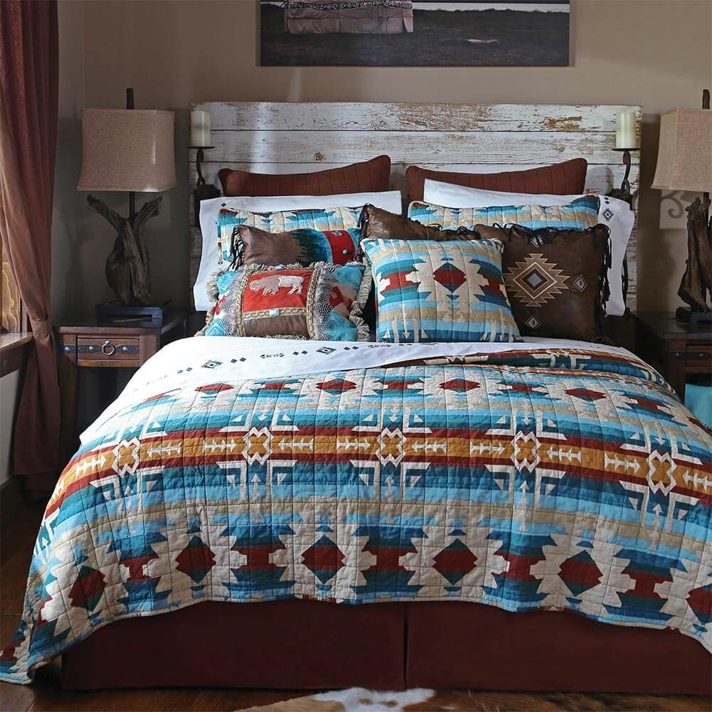 Southwest Lodge Quilt Collection in 2020 Quilt bedding