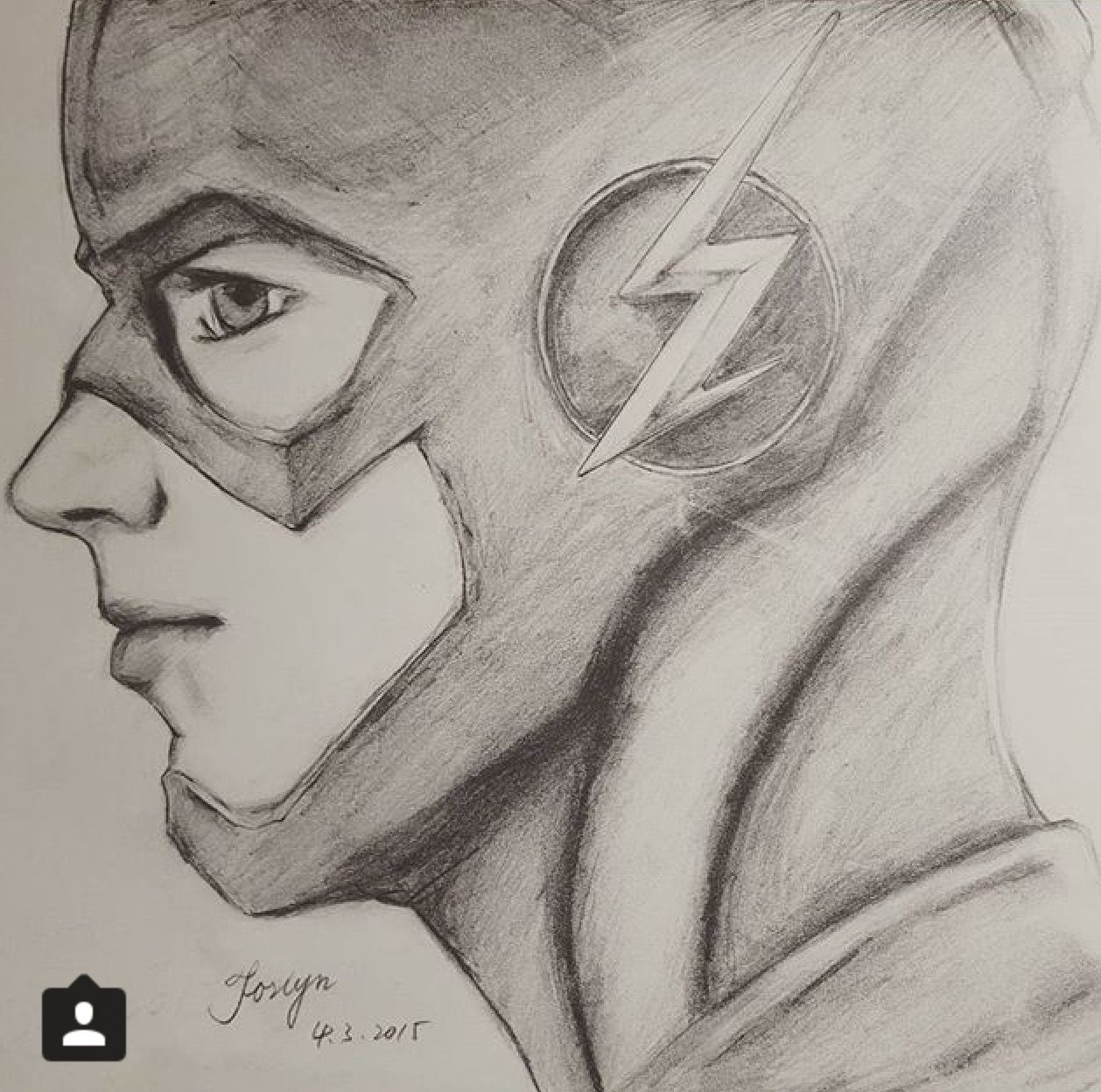 Barry Allen AKA The Flash Credit To Whoever Drew This