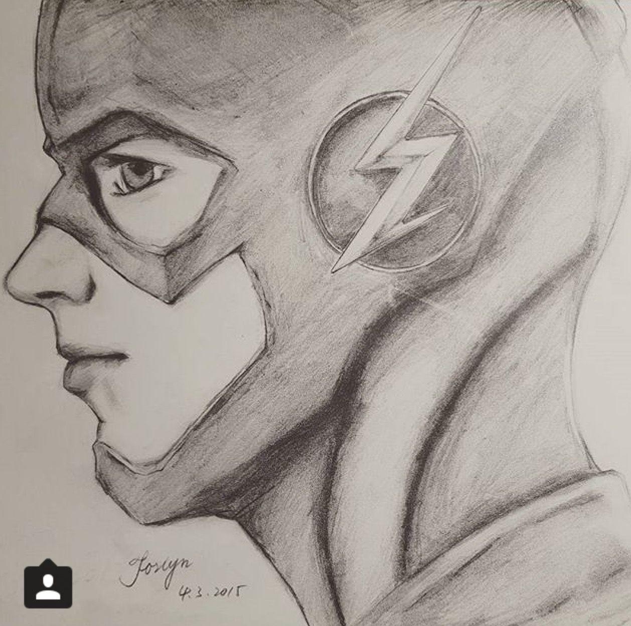 Barry Allen Best Art Flash Desenho Desenhos Top Para