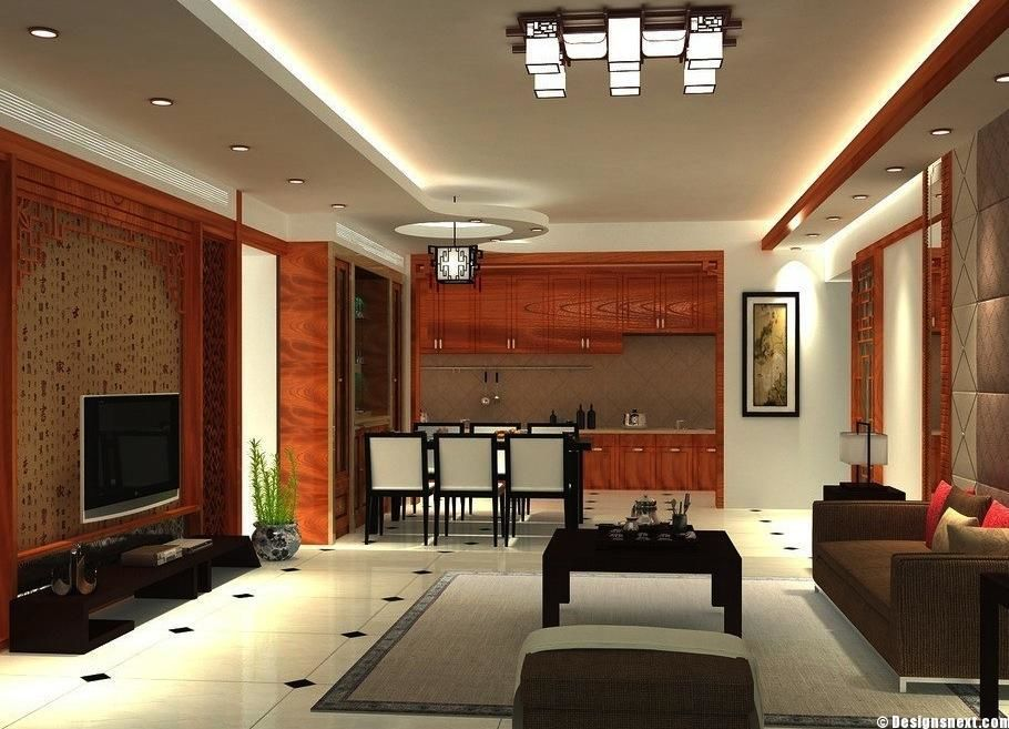 Pop design for small l shape hall google search ideas for Hall design for small house