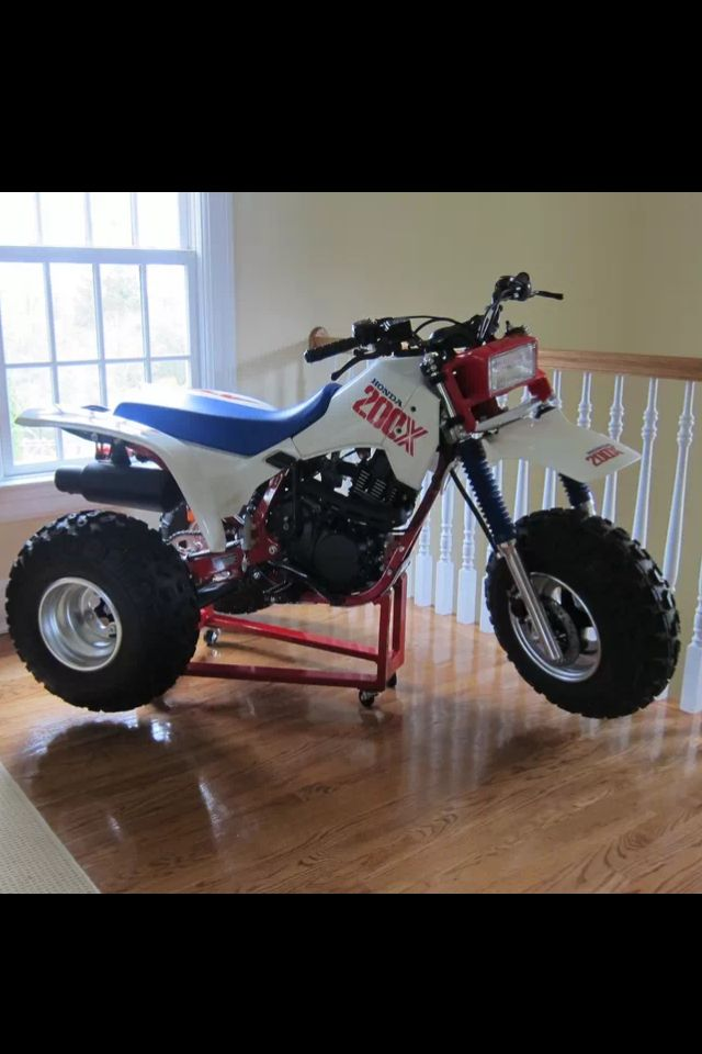 Honda ATC 200X 1986 this 4 stroke was the best engine design