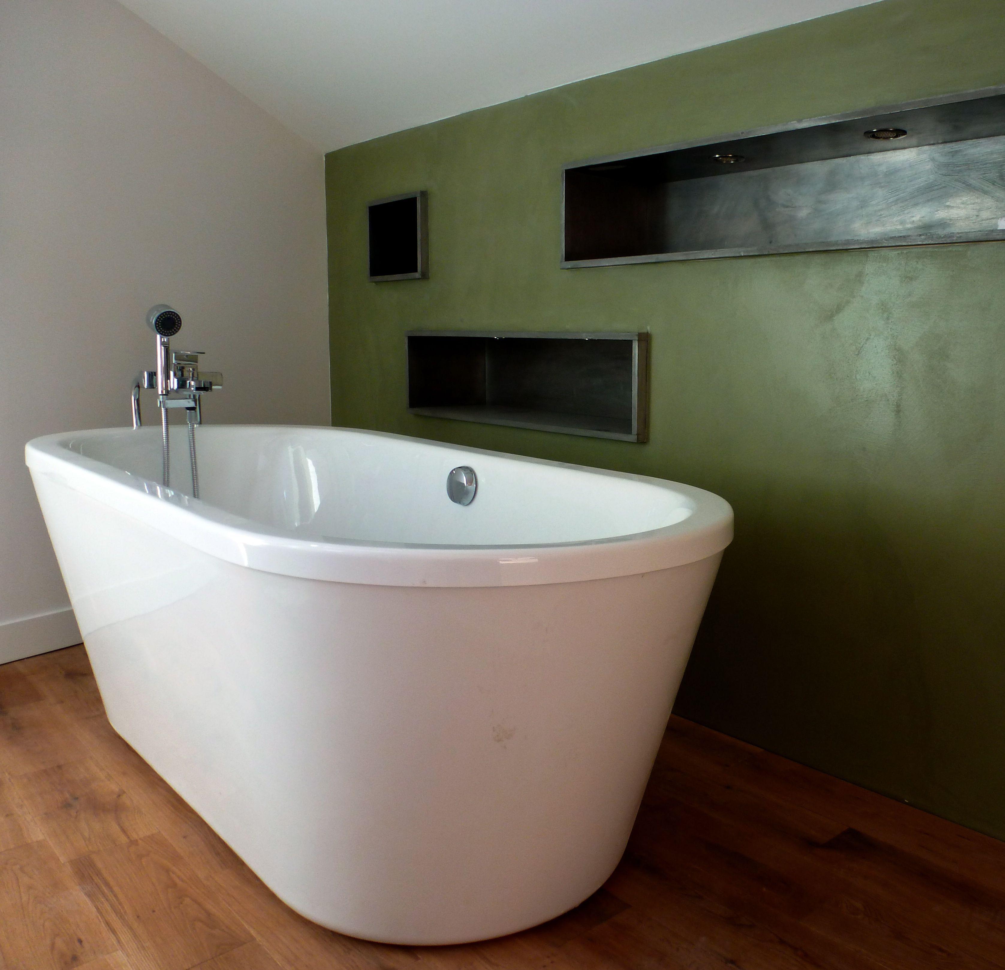Salle De Bain Ciment ~ les lilas ciment teint salle de bain asa pro b ton cir pinterest
