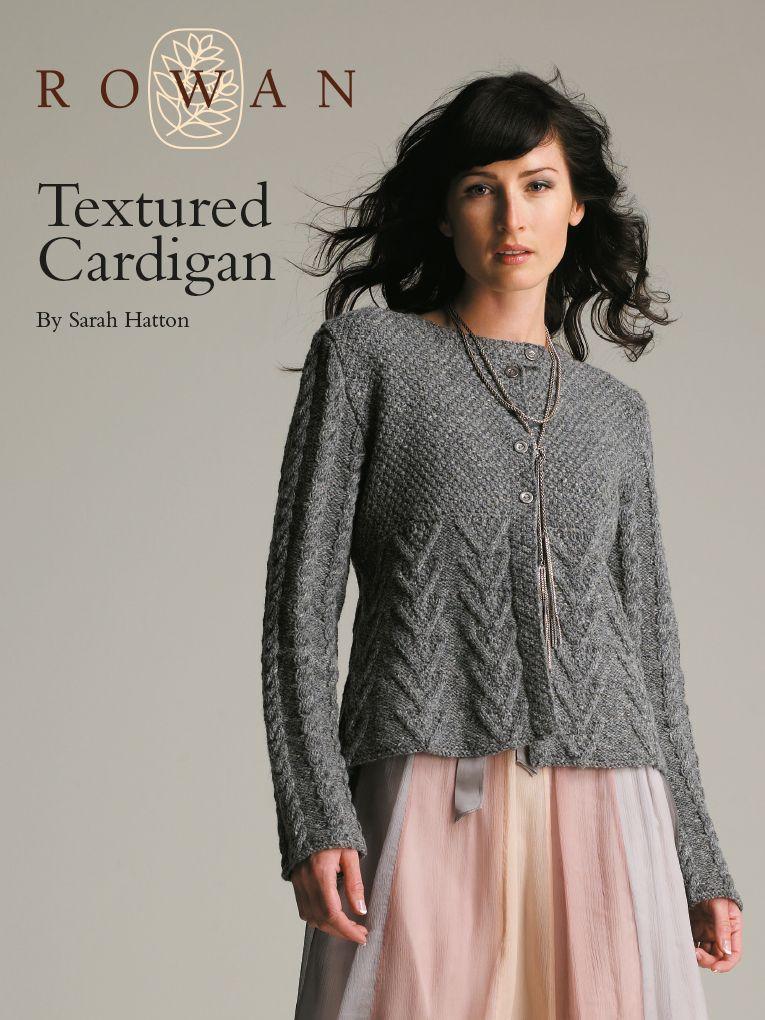 Textured Cardigan Free Knitwear Trends Pinterest Moss Stitch