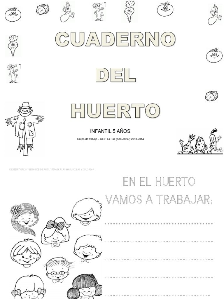Cuaderno Del Huerto Free Download As Pdf File Pdf Text File