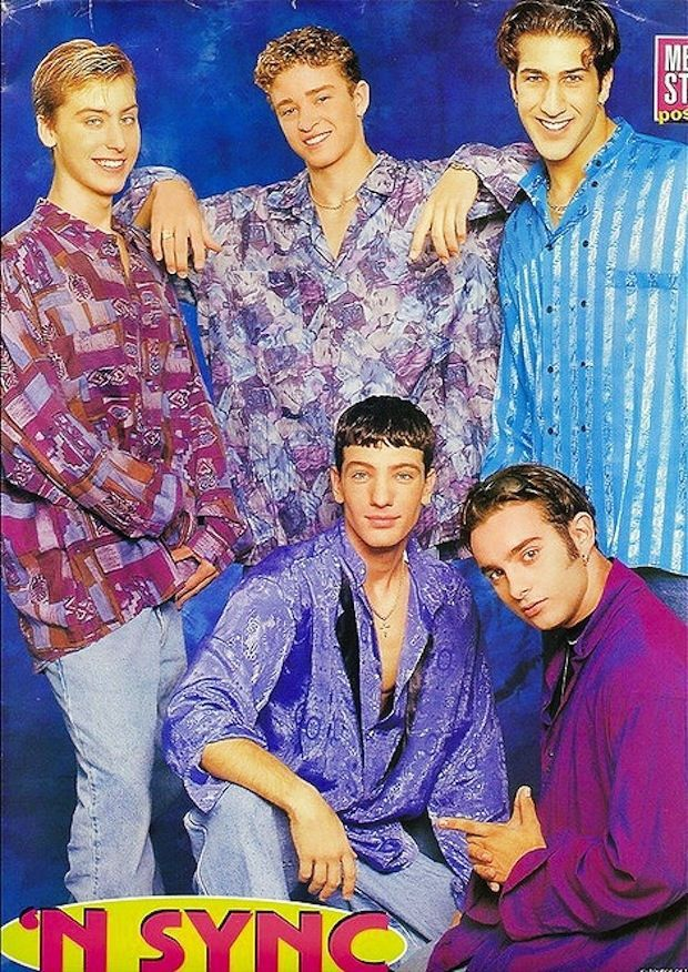 Photos From The 90s That Should Just Be Forgotten N Sync The