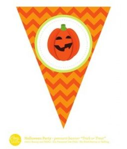 Halloween Party - Pennant Banner