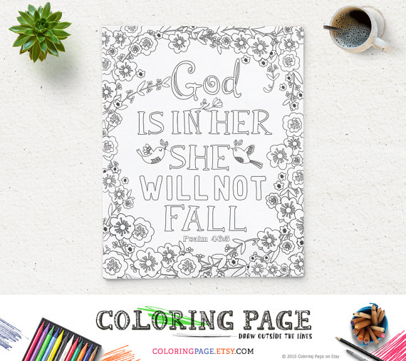 printable coloring page custom coloring page design coloring quotes coloring bible verse floral coloring mandala coloring
