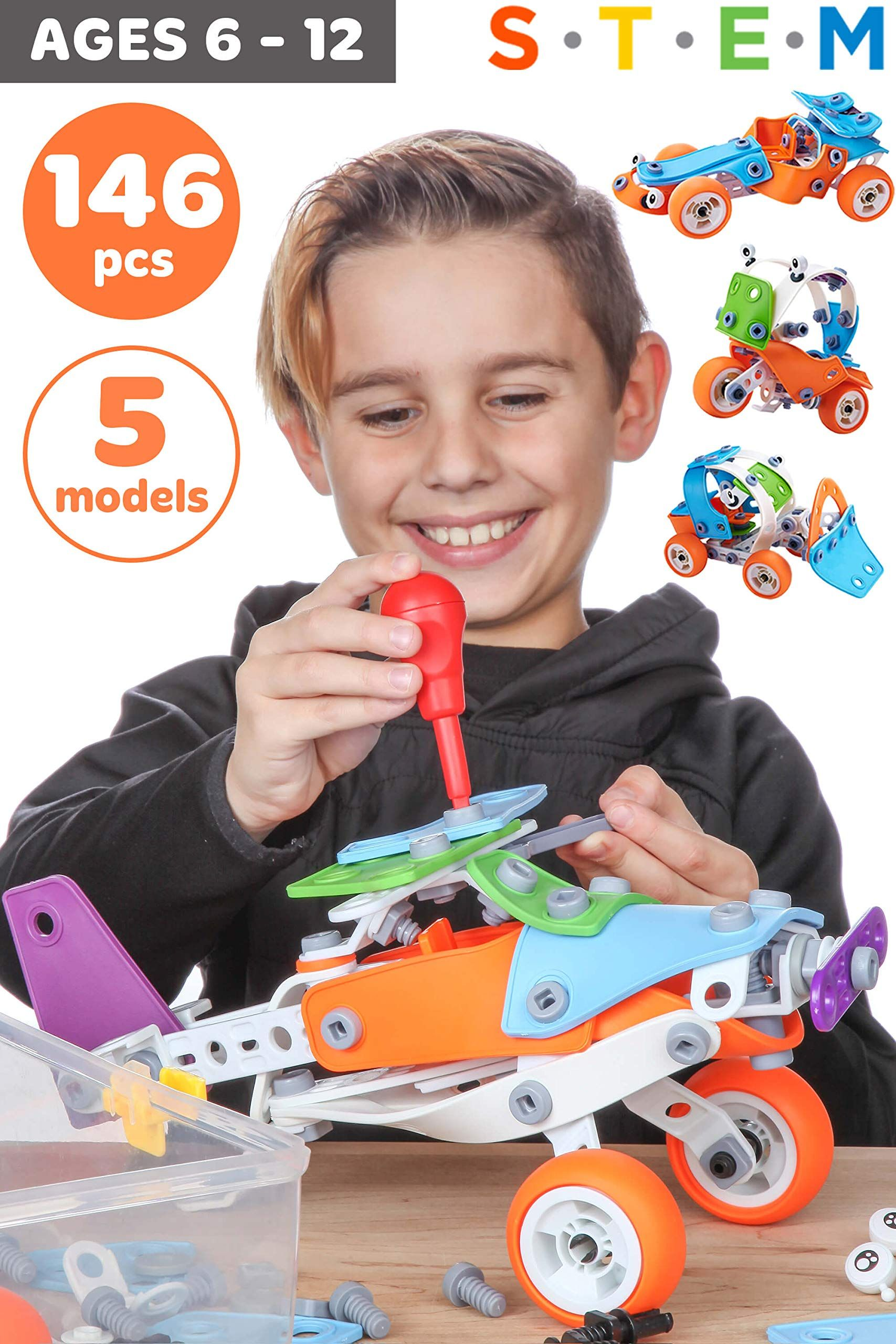 Toy Pal Stem Toys For 7 Year Olds Boys Educational Kids Building Toys For Boys Toys Age 6 7 8 Kids Building Toys Educational Toys For Kids Boys Toys Age 6