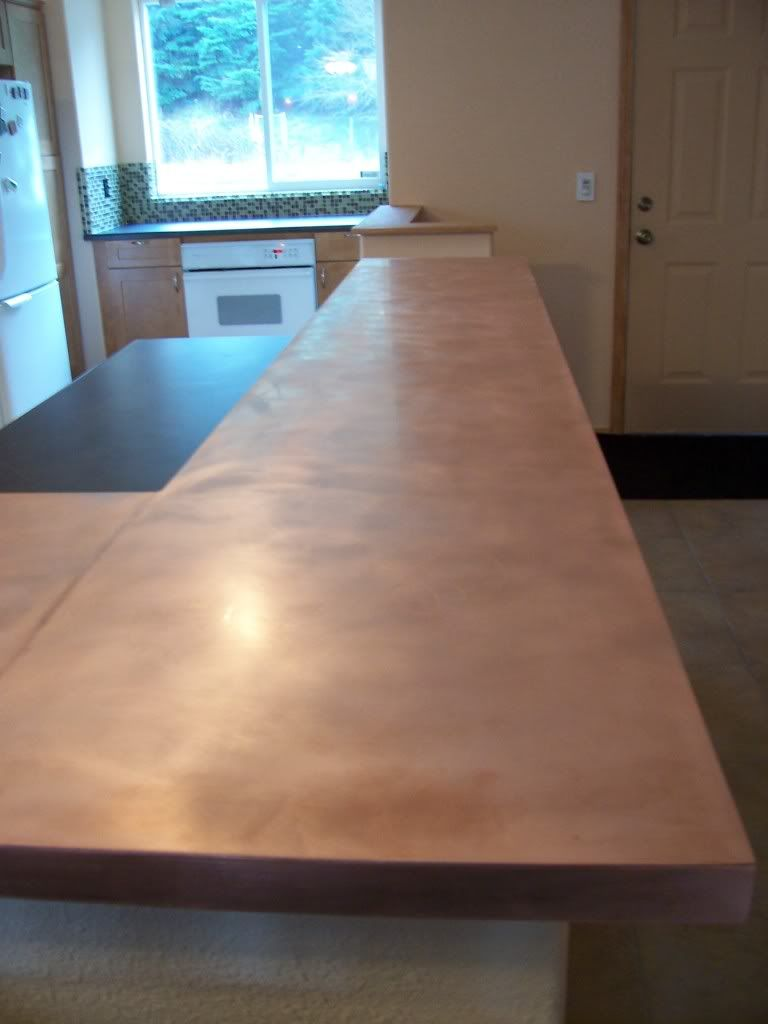 Weu0027d Like To Cover Our Countertop Base With Copper Sheeting. Weu0027ve