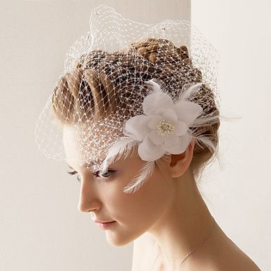 One Tier Wedding/Special Occasion Blusher Veil – USD $ 11.99