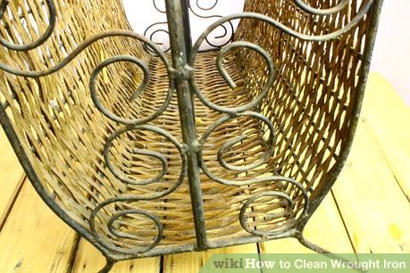 Clean Wrought Iron Wrought Iron Iron Cleaning