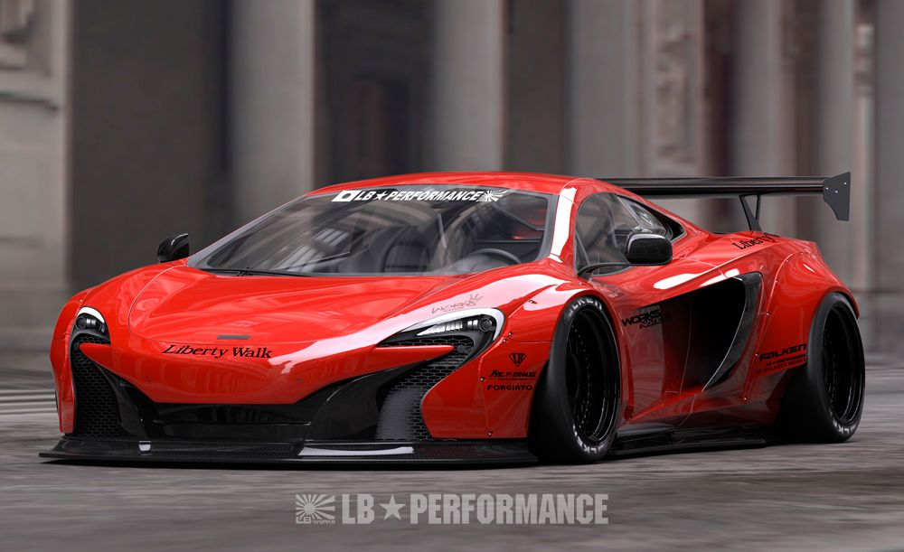 Liberty Walk Mclaren Body Kit Supercar Body Kits Pinterest