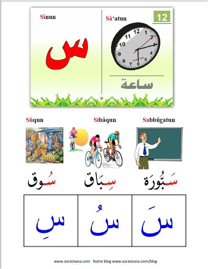 apprendre l arabe aux enfants 5 lettres au blog. Black Bedroom Furniture Sets. Home Design Ideas