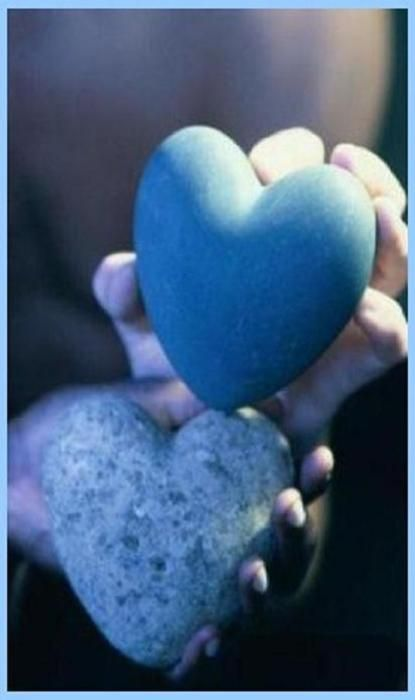 Everytime I go to the water...i.e...river..lake...etc. we search for a heart shaped rock.  Love our little tradition.