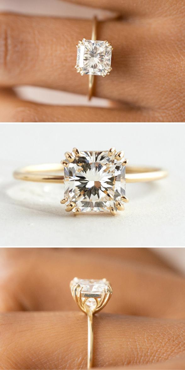 Ringsdesigns Unique Engagement Rings Rose Engagement Ring Vintage Engagement Rings