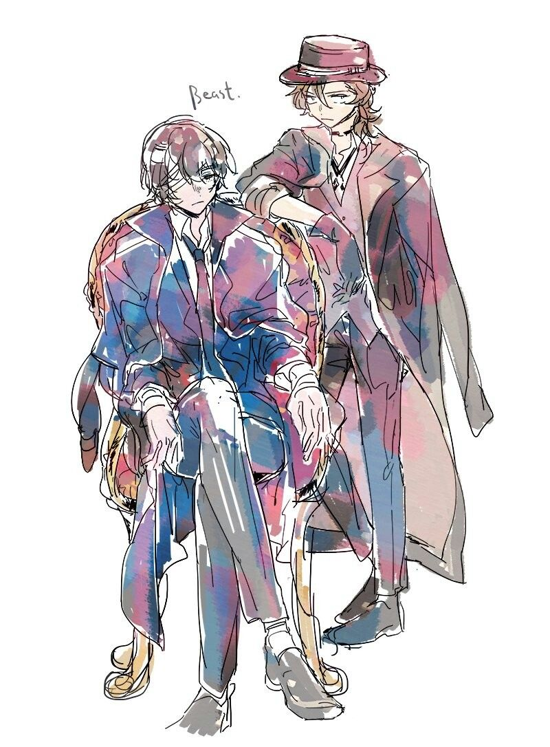 At Only 22 Years Old Dazai Has Become Port Mafia Boss And Chuuya