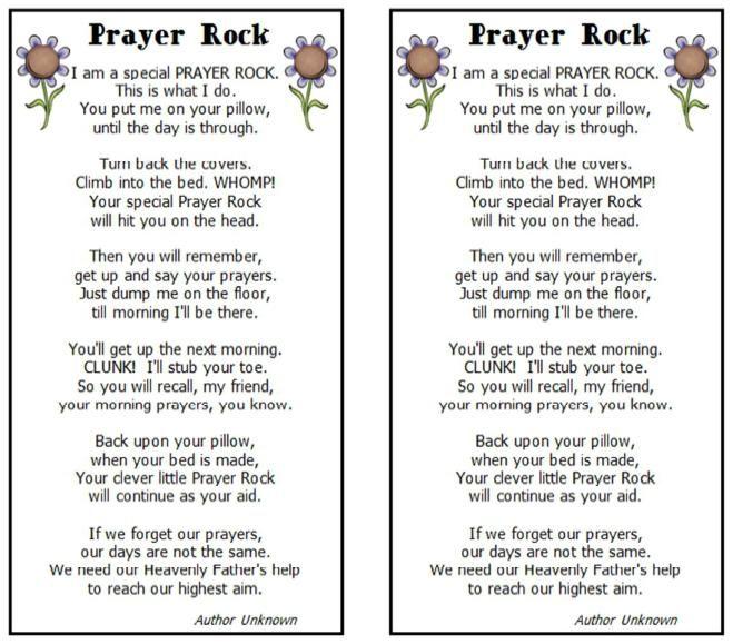The Prayer Rock - LDS SMILE