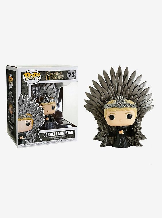 Funko Game Of Thrones Pop! Cersei Lannister On Iron Throne Deluxe Vinyl Figure #funkogameofthrones