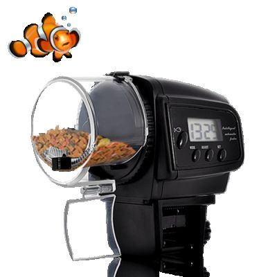 Going away? Feed the fish automatically while you're gone.
