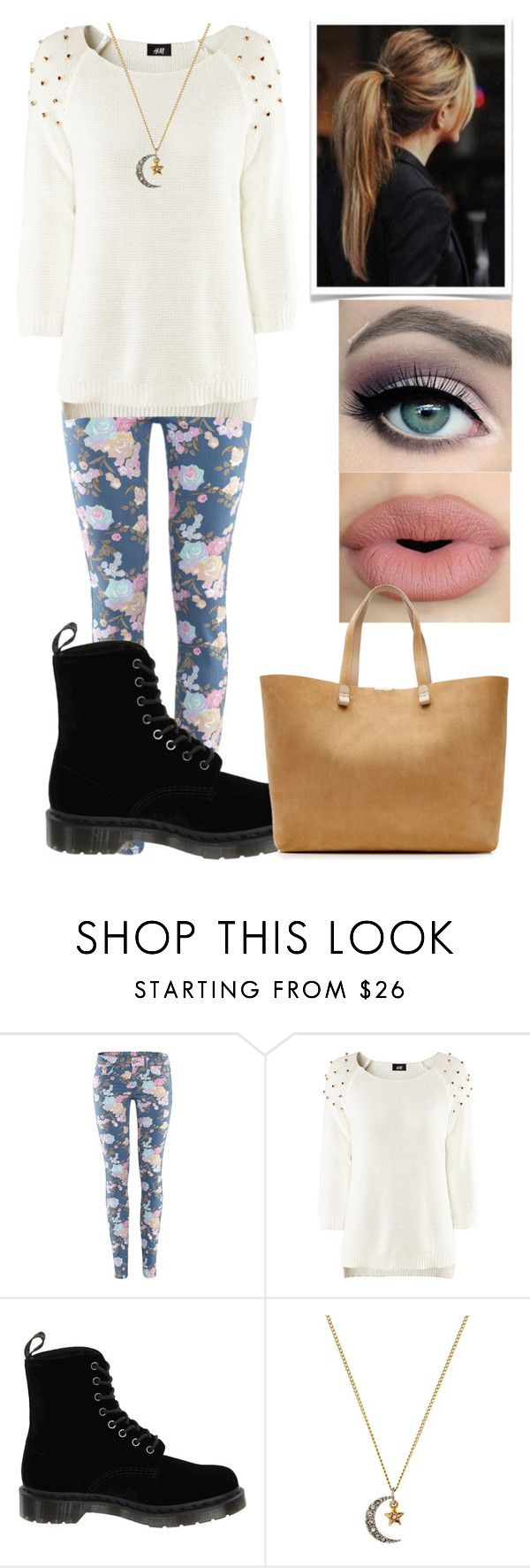 """Set #402"" by cry-baby-089 ❤ liked on Polyvore featuring H&M, Dr. Martens, Juicy Couture, Sephora Collection, tarte and Victoria Beckham"