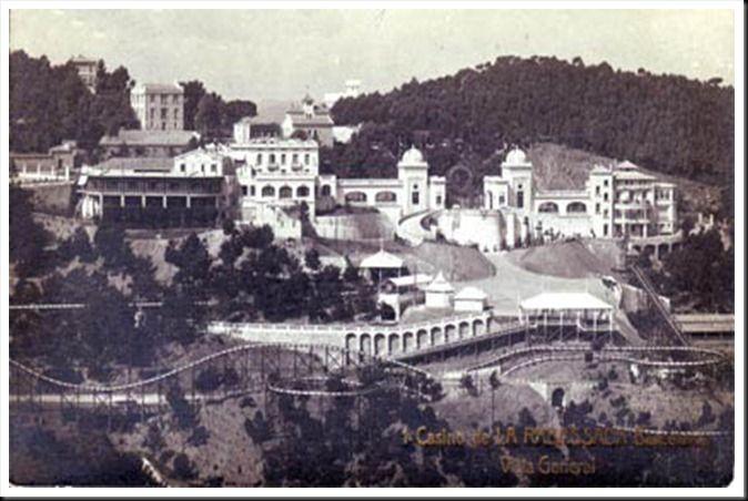 Forgotten And Magic Places: Las Ruinas del Casino de la Arrabassada