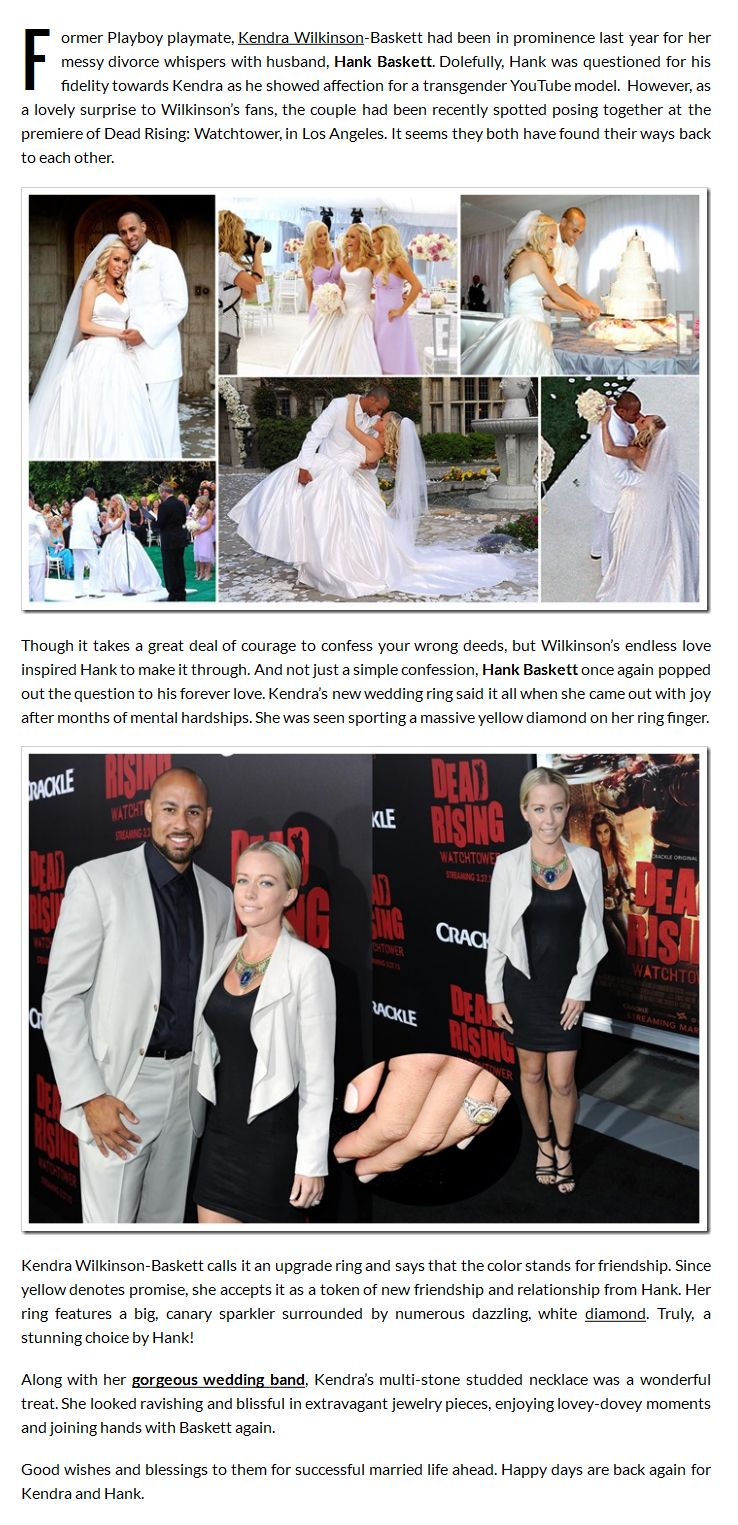 Kendra Wilkinson accepts a new proposal