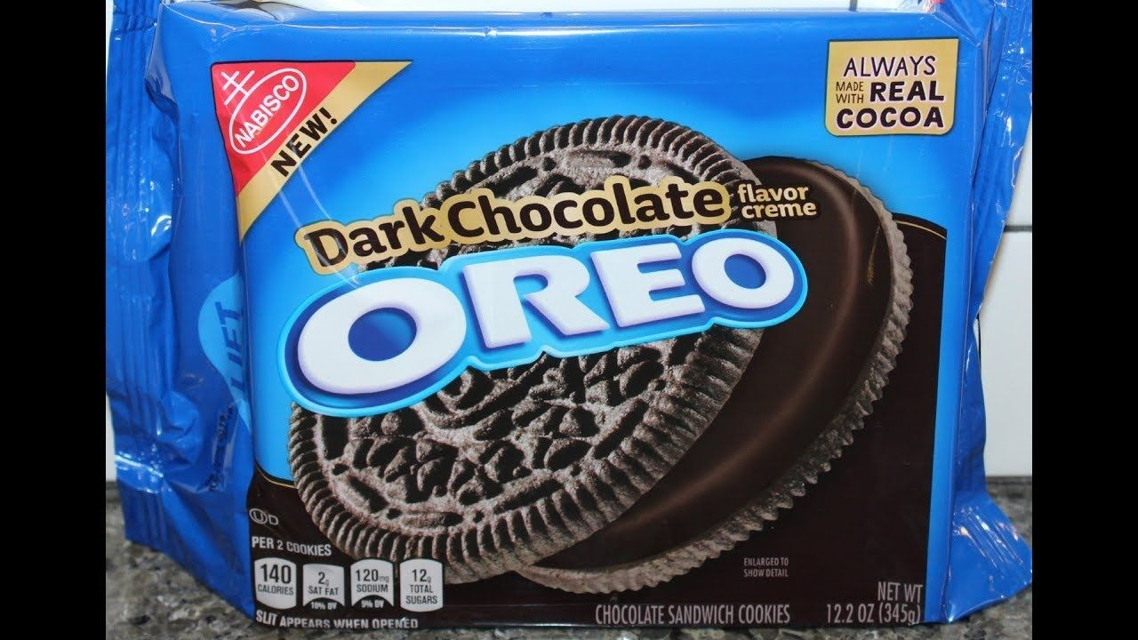 Dark Chocolate Oreo Cookie Review Oreo Flavors Oreo