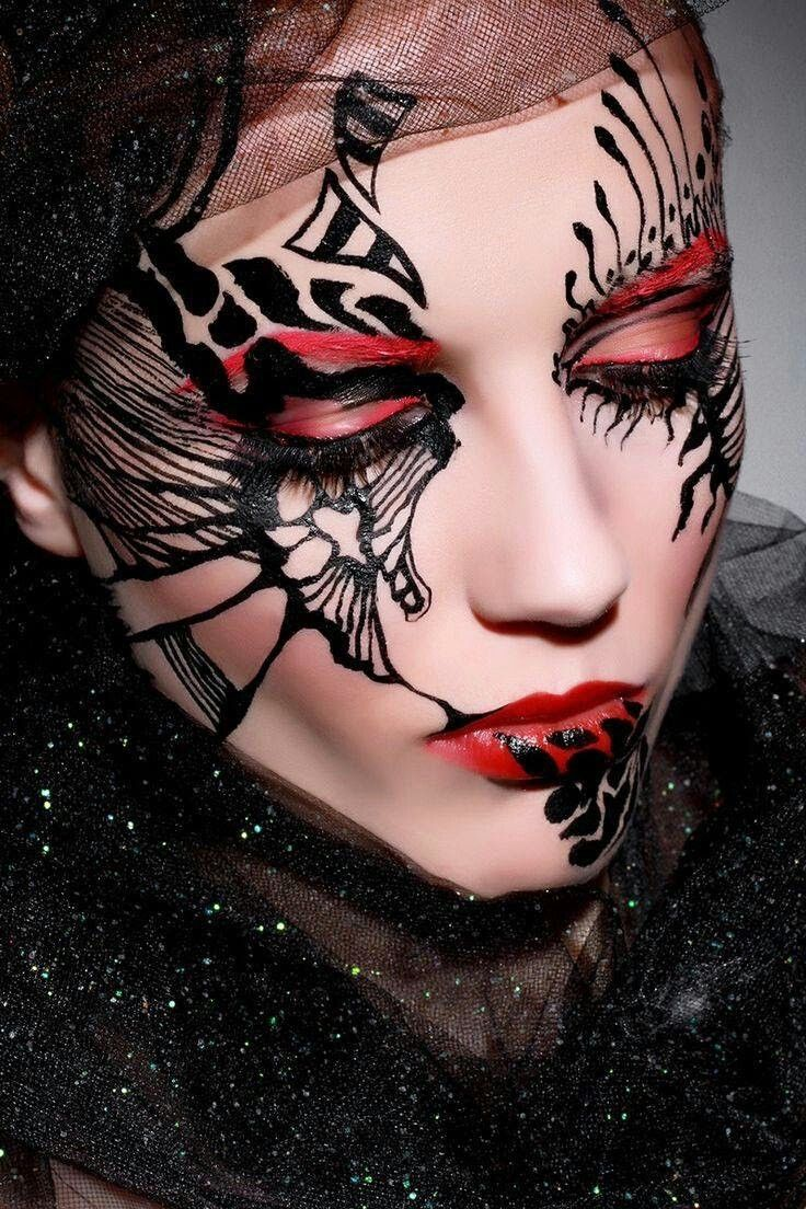 Pin by Johnnie m Jamaica on Art's face.... Halloween