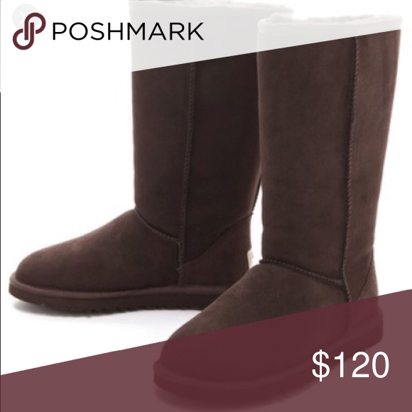 tall chocolate brown ugg boots