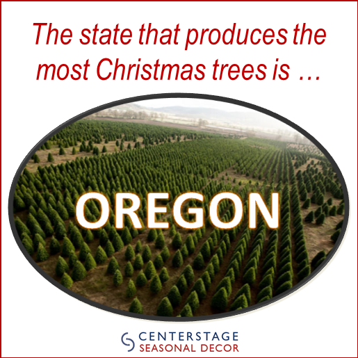 Fun Fact: Oregon grows the most #Christmas trees out of any state ...