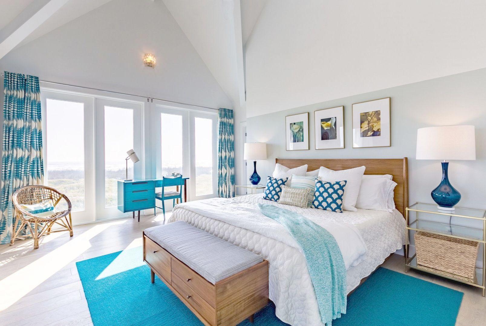 modern beach bedroom design