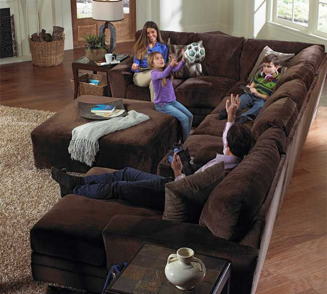 The** Jackson Everest 4377 Sectional** is our very best selling stationary sectional couch for the past year. : memory foam sectional sofa - Sectionals, Sofas & Couches