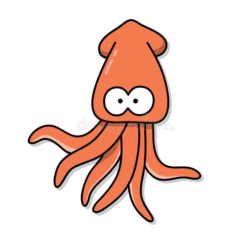 download cuttlefish squid cartoon stock vector illustration of ocean 77432075 squid art illustrations sea animals drawings squid drawing download cuttlefish squid cartoon stock