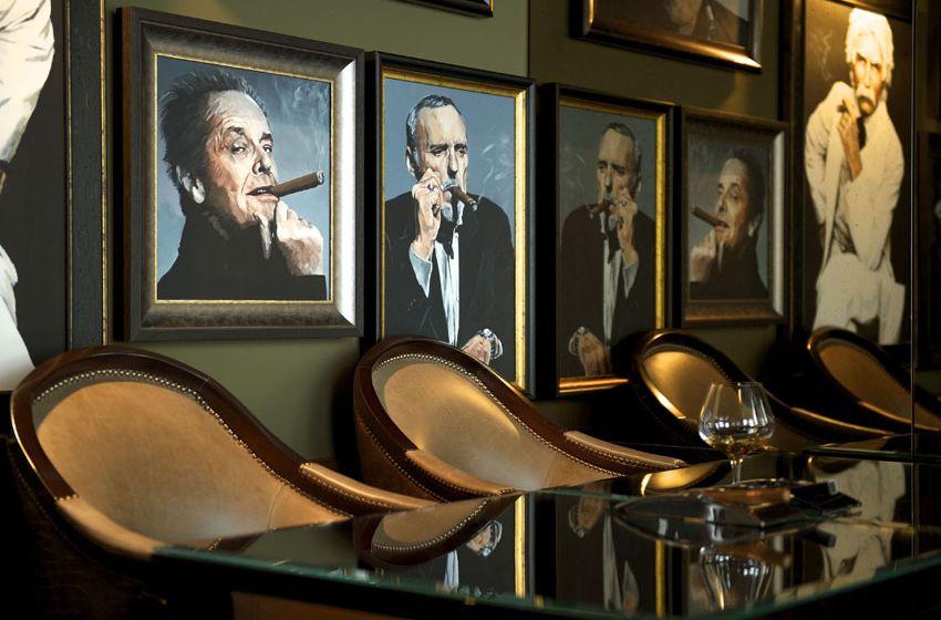 Cigars at No 10 #CigarLounge #HumidorRoom #TenManchesterStreetHotel #HospitalityDesign #HotelDesign #Creative #Design #BrandEnvironment #Interior #InteriorDesign